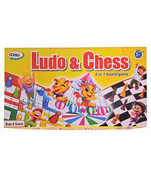 GSI Ludo And Chess Kids Board Game - Multicolor