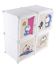 Multipurpose Storage Unit - White