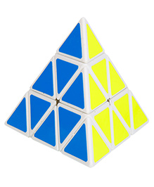 Emob Triangle Pyraminx Rubik Magic Block Cube - Multi Color