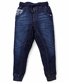 Gini & Jony Jeggings Washed Style - Dark Blue