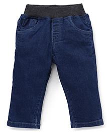 Gini & Jony Pull On Jeans - Dark Blue