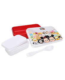 Disney Printed Lunch Box - Red White