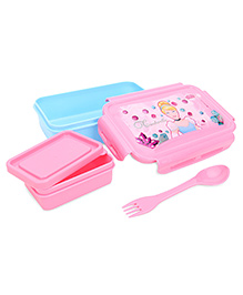 Disney Princess Lunch Box - Pink And Blue