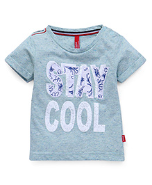 Spark Half Sleeves T-Shirt Printed - Mint