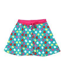 Bodycare Divider Skirt All Over Fruit Print - Green