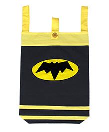 Kadambaby Laundry Bag Batman Design - Yellow Black