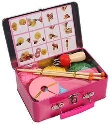 Vividha - Wooden Knitting Kit In Metal Briefcase
