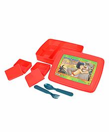 The Jungle Book Lunch Box - Orange