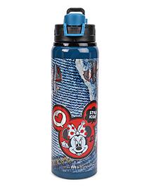 Disney Minnie Mouse Sipper Bottle - Blue Black
