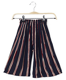 Cubmarks Verticle Stiped Culottes  - Maroon