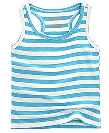 Pre Order - Awabox Sleeveless T-Shirt - Blue