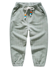 Pre Order - Awabox Checkered Pant - Green