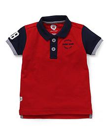 Vitamins Half Sleeves T-Shirt Printed - Red
