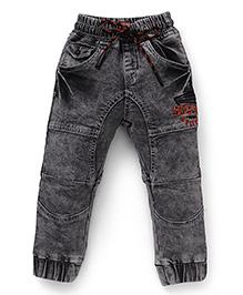 Vitamins Jeans Cut N Sew Pattern Cloud Wash Jeans - Grey