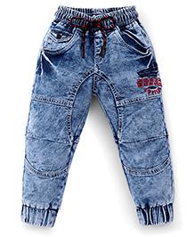 Vitamins Cloud Wash Jogger Jeans - Blue