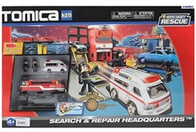 Funskool - Tomica Search And Repair Headquarters Toy Set