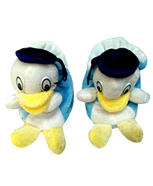 Thought Counts Duck Design Lil Booties - Light Blue