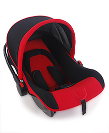 Infant Car Seat Cum Carry Cot - Red And Black