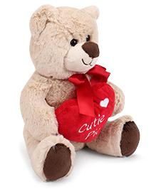 Starwalk Plush Teddy Bear Soft Toy Cream - 25 Cm