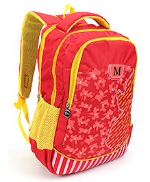 Disney Mickey Mouse School Bag Red Yellow - 16 inch