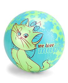 Kids Ball Cat Print  - Green Blue