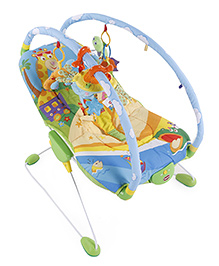 Tiny Love Gymini Bouncer - Blue And Green