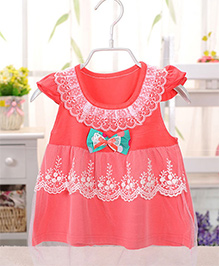 Tickles 4 U Baby Doll Dress- Orange