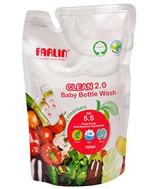 Farlin Eco Friendly Baby Liquid Cleanser - 700 Ml Refill Pack