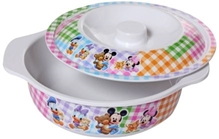 Bowl with Lid - Mickey