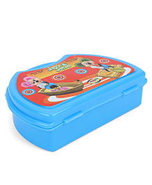 Jewel Lunch Box With Jazz And Jane Print - Blue
