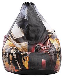 Orka Trooper & Darth Vadar Digital Printed Bean Bag Cover Black - XL