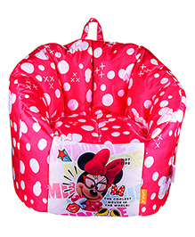 Orka Disney Minnie Mouse Digital Printed Kids Boss Chair - Multicolor