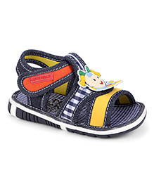 Cute Walk by Babyhug Sandal With Patch - Navy