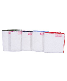 Mumma's Touch Organic Baby Face Towel Assorted Pack of 5