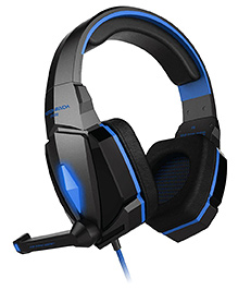 Kotion Each G4000 Gaming Headphones With Mic And LED - Black Blue