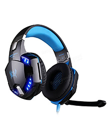 Kotion Each G2200 7.1 Channel USB Gaming Headphones With Vibration - Black Blue