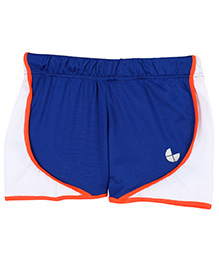 Tyge Contrast Running Shorts - Royal Blue