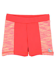 Tyge Contrast Shorts - Neon Pink