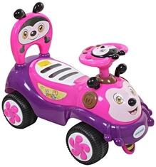 Fab N Funky Manual Push Ride On - Pink