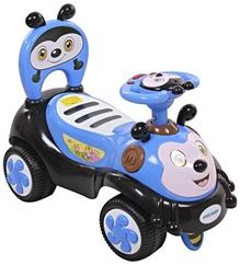 Fab N Funky Manual Push Ride On - Blue