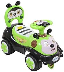 Fab N Funky Manual Push Ride On - Green