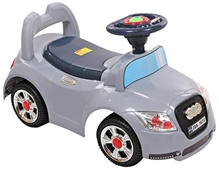 Fab N Funky Grey Manul Baby Ride On Car A fantastic Manul Ride-on car for your little one