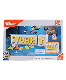 Fisher Price Despicable Me Name Plate Builder - 230 Pieces
