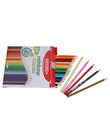 Fibracolor Triangular Shaped Color Pencils - Pack Of 24