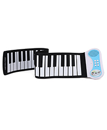 Sirius Toys Silicone Flexible Roll Up Piano With Loud Speaker