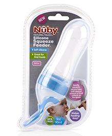 Nuby Natural Touch Silicone Travel Infa Feeder - 90 Ml