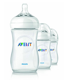 Ibhejo Avent Natural Bottles Pack Of 3 - 120 Ml