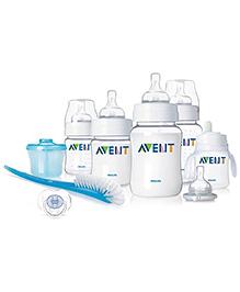 Avent Infant Starter Bottle Set Pack Of 4 - White