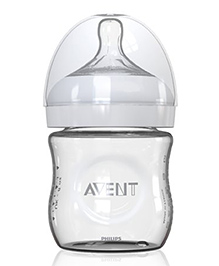 Philips Avent Natural Glass Bottle - 118 Ml