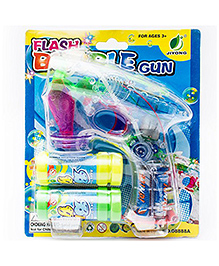 Ibhejo Cool Glow Led Bubble Gun - Multicolor